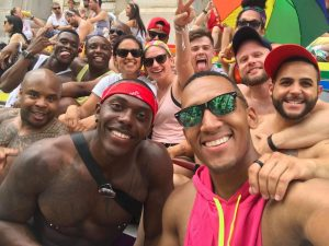 We LIT as fuck in real life! 👏🏾😂 #EuroPride #Pride #Vienna #Vacation Rathausplatz, Vienna, Austria