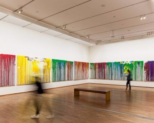 If you're around Vienna don't miss 'Spaces of Color', Hermann Nitsch's solo exhibition at the @albertinamuseum. The...