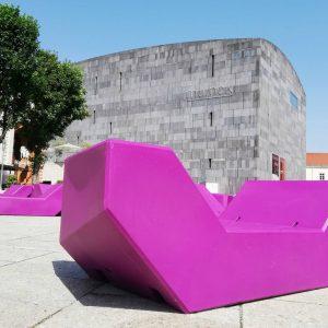 Museum Moderne Kunst Stiftung Ludwig - 2001 Ortner & Ortner. #wien #vienna #mumok #picoftheday #photography #fotografie #photooftheday...