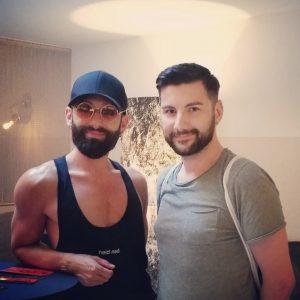 🖤WURST🖤 . . . . . #wurst #conchitawurst #europride #pride #europride2019 #instagay #gayman ...