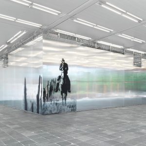 For the exhibition at the Belvedere 21 Monica Bonvicini has developed a site-specific ...
