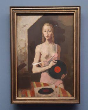 Das Mädchen mit der Schallplatte