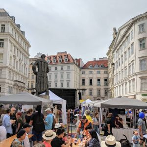 Have you ever seen Judenplatz as full as this?😲 Once a year, Judenplatz becomes a huge and...