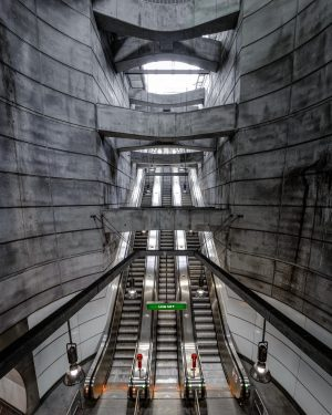 . . 🚇 U2 Symmetrie 2.0🚇 . . . #vienna #wienerlinien #wien #urbex ...