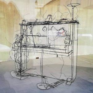 MQ - Art Box - Fritz Panzer - Drahtskulptur bis 20.08.2019.#wien #vienna #sculpture ...
