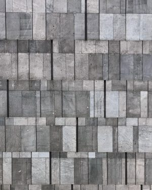 The Mumok patterns. - #mumok #stone #basalt #basaltlava #gray #minimal #archilovers #architecturelovers #geometry #lines #buildings #geometric #architexture...