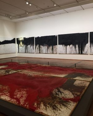Great show of Hermann Nitsch at Albertina Museum in Vienna! First discovered his passionate works at Paris...