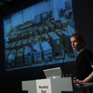 #Hollein Archiv ! 36 Paletten! Da muss sich die #SammlungEsel noch ein bisserl anstrengen... (Ausstellungseröffnung #HaasHaus @architekturzentrum_wien...