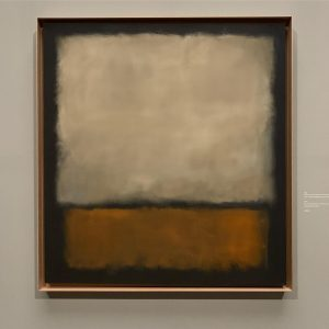 "coolest place on a 35 degrees day in Vienna: #rothko 's show @kunsthistorischesmuseumvienna (personal highlight ""No. 7,..."