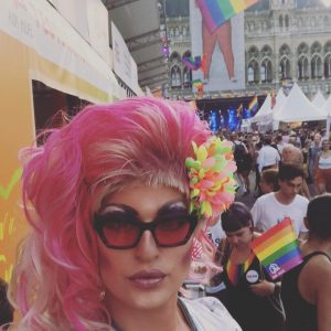 I had the most wonderful days here at the Rathausplatz in Vienna. Thank you @europride2019 for the...