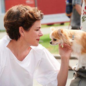 Immer wenn ich Hunde sehe, wie auch hier auf dem Donauinselfest, muss ich einfach stehen bleiben. #dif19...