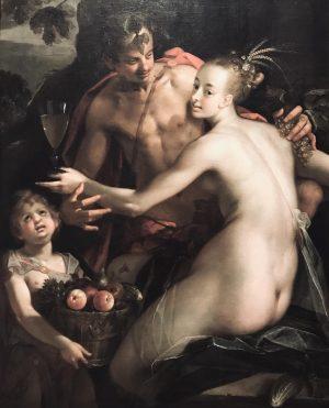 Advert/Anzeige Hans von Aachen 🖤 Bacchus, Ceres and Amor, um 1600 @kunsthistorischesmuseumvienna #inspiration #design #lifestyle #vienna #darkromantic...
