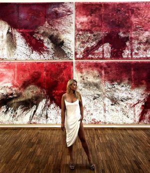 Work of art by Hermann Nitsch