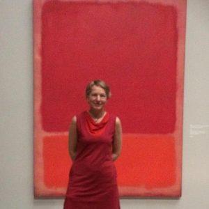 In farblicher Abstimmung mit Mark Rothko, gestern im KHM in Wien...