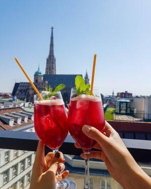 📌Vienna Cocktails around 10 € 🍹 ° In these hot weather days, if ...