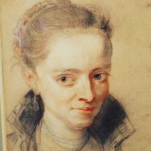Peter Paul Rubens 1620 Portrét Zuzany Fourment