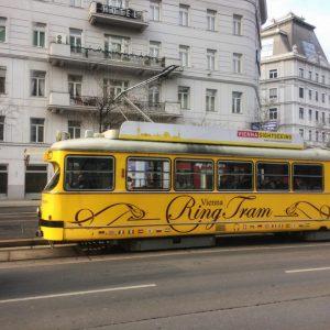 Vintage Vienna #vienna #ig_europe #ig_austria #ig_great_pics #travelphotography #traveltheworld #neverstopexploring #streetphotography #europe #vintage #tram #ig_color #austria