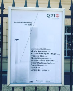 Enjoying my new residency @q21_vienna and very exited about my upcoming installation in ...