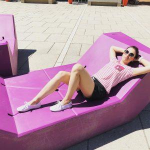 Chillout, deser i porządny kotlet. To moja definicja udanego urlopu 😜 #day2 #holliday #summer2019 #vienna #hofburg