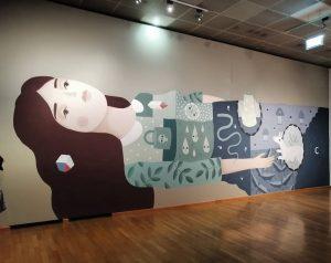 @frauisa for 'Takeover - Street Art & Skateboarding' @wienmuseum . . . . #streetart #urbanart #igersvienna #igerswien...