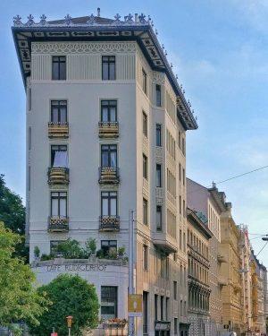 Rüdigerhof (Oskar Marmorek, 1902) . . . . . . . . #archilovers #architecture #cityview #jugendstil #buildings...