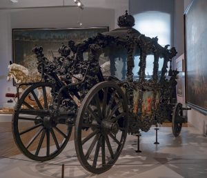 We are still at the Imperial Carriage Museum in Schönbrunn. It is part ...