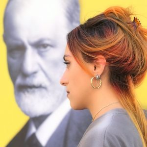#bárbaradíaztapia #viena #freud #retratodeartista Foto: @helenenidrodriguezdiaz
