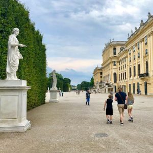 Schönbrunn Palace is amazing in all is sumptuos glory and golden interior. But ...