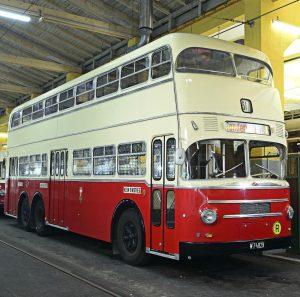 London's calling! Oder doch Wien? Was dem britischen Routemaster ähnlich sieht, ist in Wirklichkeit einer jener Doppeldecker,...