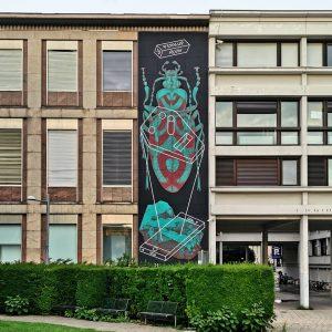 @perk_up & @r_u_i_n_ for @wienmuseum Takeover ⚠️ - 05.07.-01.09.2019 #wienmuseum #takeover #streetart #skateboarding #exhibition #urbanart #graffiti #graffitiart...