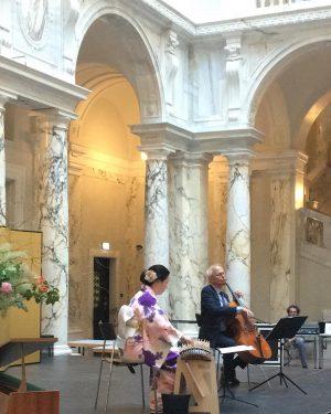 About yesterday… We enjoyed the performance of Enokido Fuyuki (Koto) and Franz Bartolomey ...