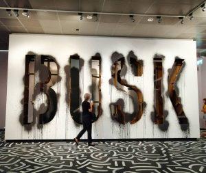 @paul.busk for 'Takeover - Street Art & Skateboarding' @wienmuseum . . . . #streetart #urbanart #igersvienna #igerswien...