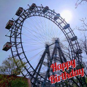 Liebstes Wiener Riesenrad, alles Liebe zum 122. Geburtstag! Bussi, dein Prater ❤️ #wienerprater ...