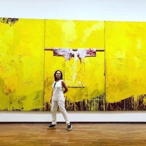 Hermann Nitsch at Albertina museum #art #museum #painting #designs #vienna #austria #vacation #fun