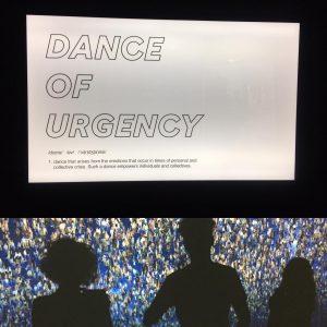 #neverstopdancing #danceofurgency