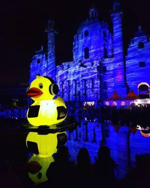 #popfest #igersaustria #igersvienna #fm4 #karlskirche #karlsplatz Karlskirche, Wein