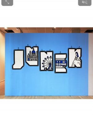 Exhibitions become more and more digital... Even #streetart meets #tech more and more often. Here an example...