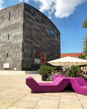 "The Museumsquartier, literally ""museum quarter"" offers both world class museums and spaces to relax. Would you rather..."