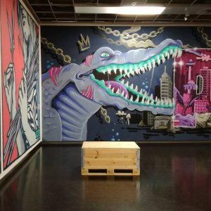 Takeover Exhibition in the Wien Museum @wienmuseum #streetart #mural #murals #graffiti #graffitis #wienmuseum #exhibition #wienmuseumtakeover #viennastreetart #viennamurals...