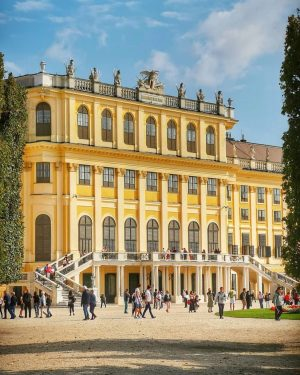 The amazing Schönbrunn Palace is one of Europe's most beautiful Baroque complexes. It ...