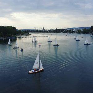Beautiful #Danube ⛵ #Shot through the metro window on my way #home 😊 ...