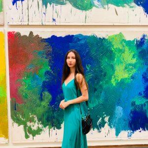 #Albertina #hermannitsch #colors #art #blue