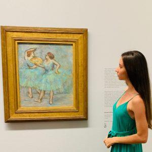 #albertina #sammlungbatliner #degas #miro #picasso #monet #chagall