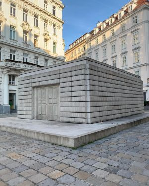 Just around the corner from Judenplatz Holocaust Memorial in downtown Vienna, you can ...