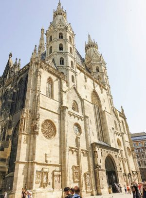 Vienna's Cathedral One of Vienna's top tourist spot, you can find a lot of branded stores near...