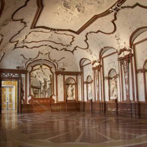 Do you know where you can find this room? It's the Marble Gallery in the Lower Belvedere....