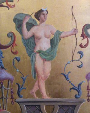Mit grünen Flügeln. • • • • • • • • • #arrow #spike #Pfeil #Bogen #fresco...