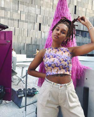 @theresagmbh 👾 #burggasse24 #purplehaze #lilkim #vintagebelt