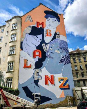 Das @callelibre Festival macht Wien diese Woche wieder ein wenig bunter. Gemalt wird seit Montag an mehr...