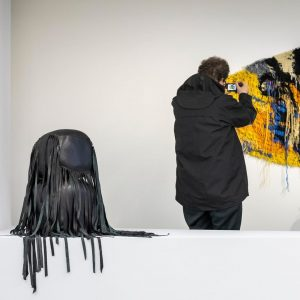 Caroline Achaintre's work went from underlining humanity's dark side to incorporating itself within ...